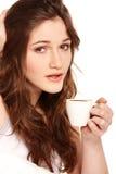 Café dans le bâti photographie stock