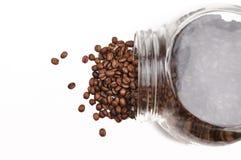Café dans le pot Photo stock