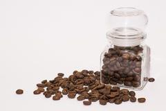 Café dans le pot Images libres de droits