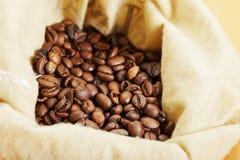 Café dans le sac Images libres de droits