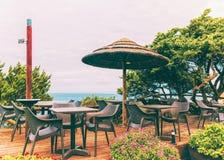 Café dans le Testa de capo chez Santa Teresa Gallura Sardinia Italy photos stock