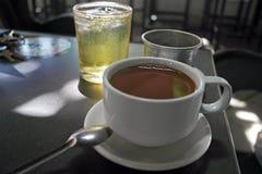 Café dans le Vietnamien image libre de droits