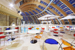 Café dans le waterpark Caribia Photo stock