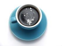 Café dans une cuvette Photographie stock