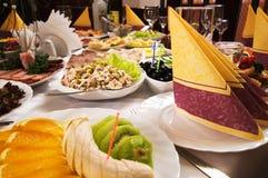 café de banquet Images stock