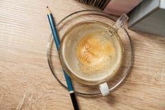 Café de Brainstrom Fotografía de archivo libre de regalías