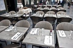 Café de Bruxelas Fotos de Stock
