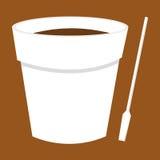 Café de bureau illustration stock