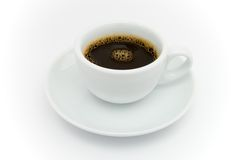 Café de café express Photographie stock libre de droits