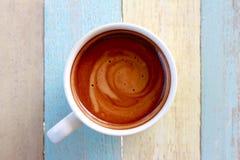 Café de cappuccino Photos stock