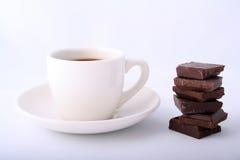 café de chocolat Photographie stock