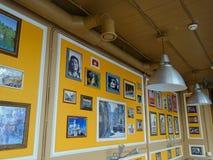 Café de conception intérieure dans le style cubain photo stock
