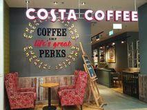 Café de Costa Coffee photo stock
