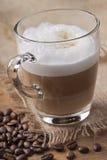 Café de crème de Latte photos libres de droits