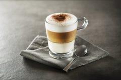 Café de crème de Latte photographie stock