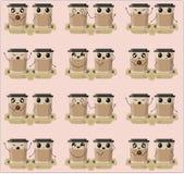 Café de Emoji stock de ilustración