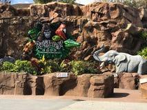 Café de forêt tropicale, ressorts de Disney, Orlando, la Floride photographie stock