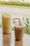 Café de gelo fotos de stock