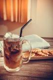 Café de gelo imagem de stock royalty free