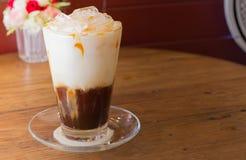 Café de gelo com leite Imagens de Stock Royalty Free