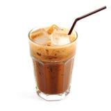 Café de gelo tailandês do estilo imagem de stock