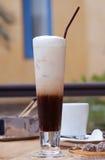 Café de glace Photographie stock