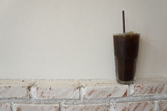 Café de glace photo stock