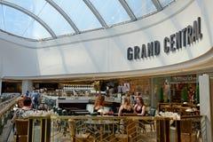 Café de Grand Central, Birmingham Images stock