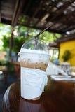 Café de hielo Imagen de archivo libre de regalías