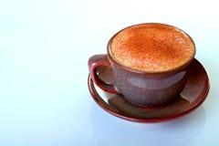 Café de l'hiver avec de la cannelle Images stock