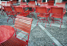 Café de la acera Imagen de archivo