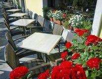 Café de la acera Imagenes de archivo