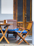Café de la acera Fotos de archivo libres de regalías