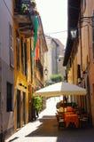 Café de la calle Imagen de archivo libre de regalías