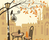 Café de la calle libre illustration