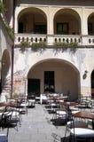 Café de la calle Foto de archivo libre de regalías