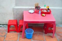 Café de la calle, Vietnam Foto de archivo libre de regalías