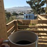 Café de la mañana Foto de archivo libre de regalías