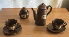 Café de la mañana para dos Imagenes de archivo