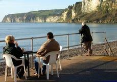 Café de la madrugada con una visión Imagenes de archivo