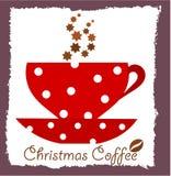 Café de la Navidad Foto de archivo libre de regalías