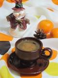 Café de la Navidad Fotos de archivo