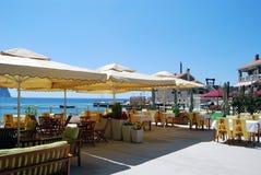Café de la playa Imagenes de archivo