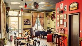 Café de la rebelión Imagen de archivo libre de regalías