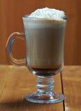 Café de la taza de Cappuchino Fotografía de archivo libre de regalías