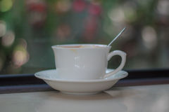 café de latte à l'arrière-plan photo libre de droits