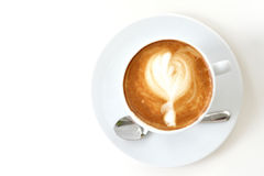Café de Latte photo stock