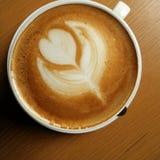 Café de Latte Fotografia de Stock Royalty Free