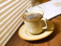 Café de matin. photographie stock
