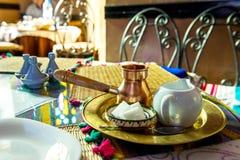 Café de matin Images stock